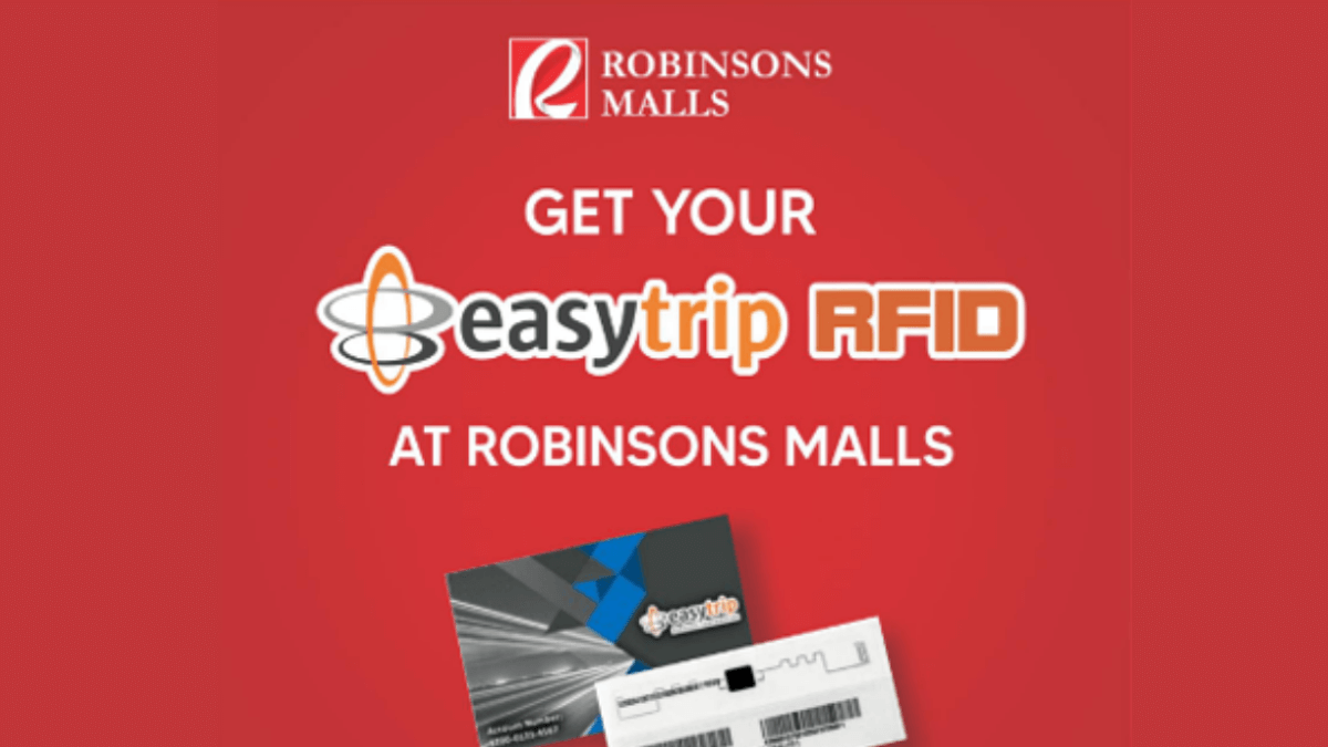 Robinsons Malls to Install Easytrip RFIDs for Free!