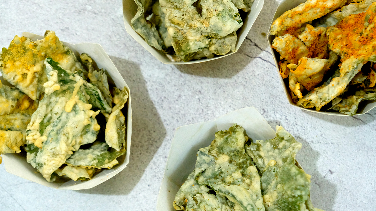 Eat Of The Week: Crunchy Kangkong Chips to Replace Your Flavored Fries Cravings