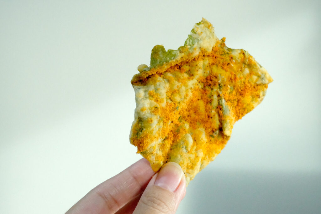 Snack on these crunchy veggie chips!