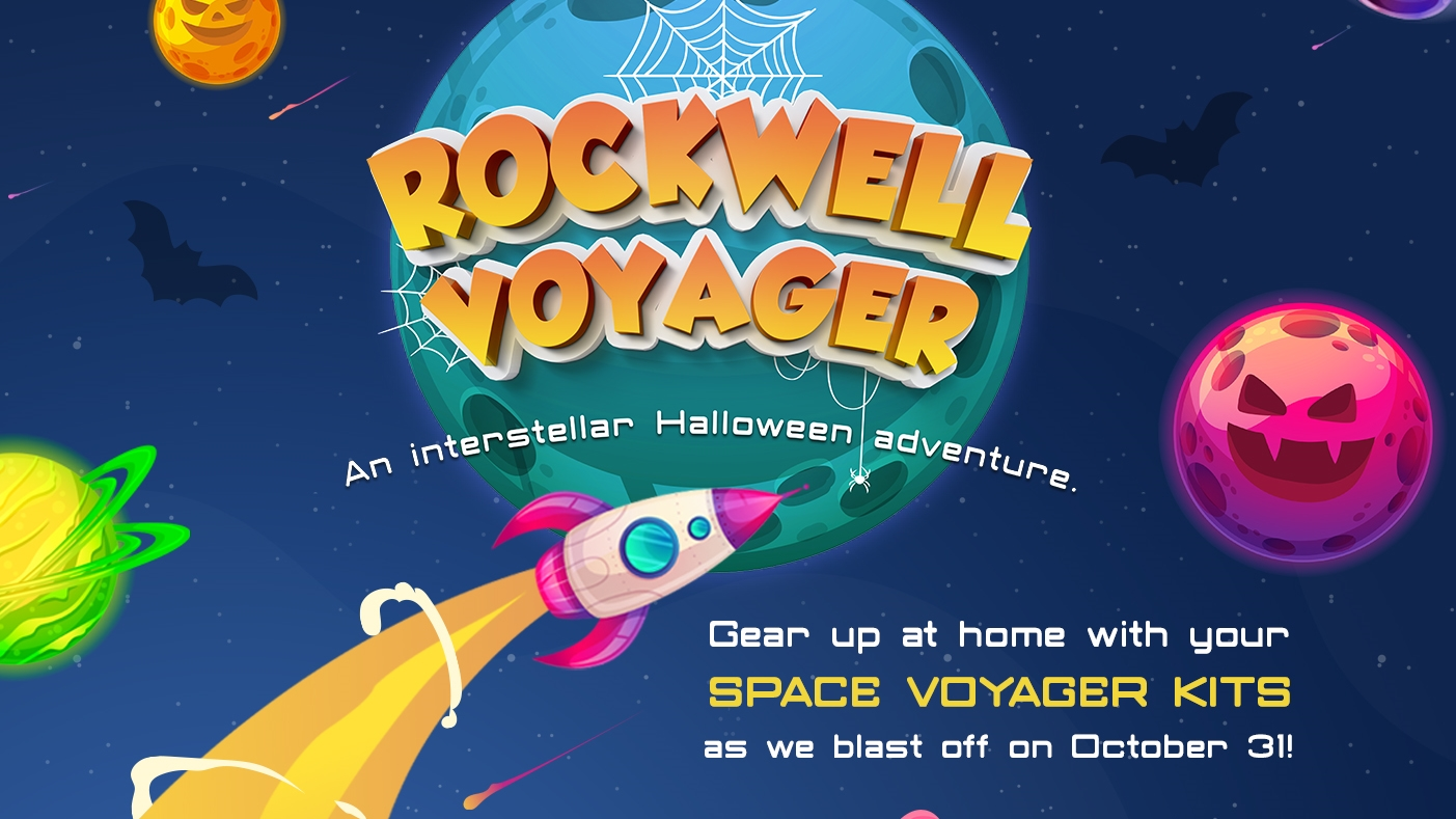 Rockwell Makes Trick-Or-Treating Fun and Safe at Home with These Space Voyager Kits