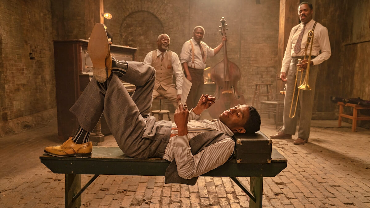 FIRST LOOK: Chadwick Boseman's Last Film, 'Ma Rainey's Black Bottom'