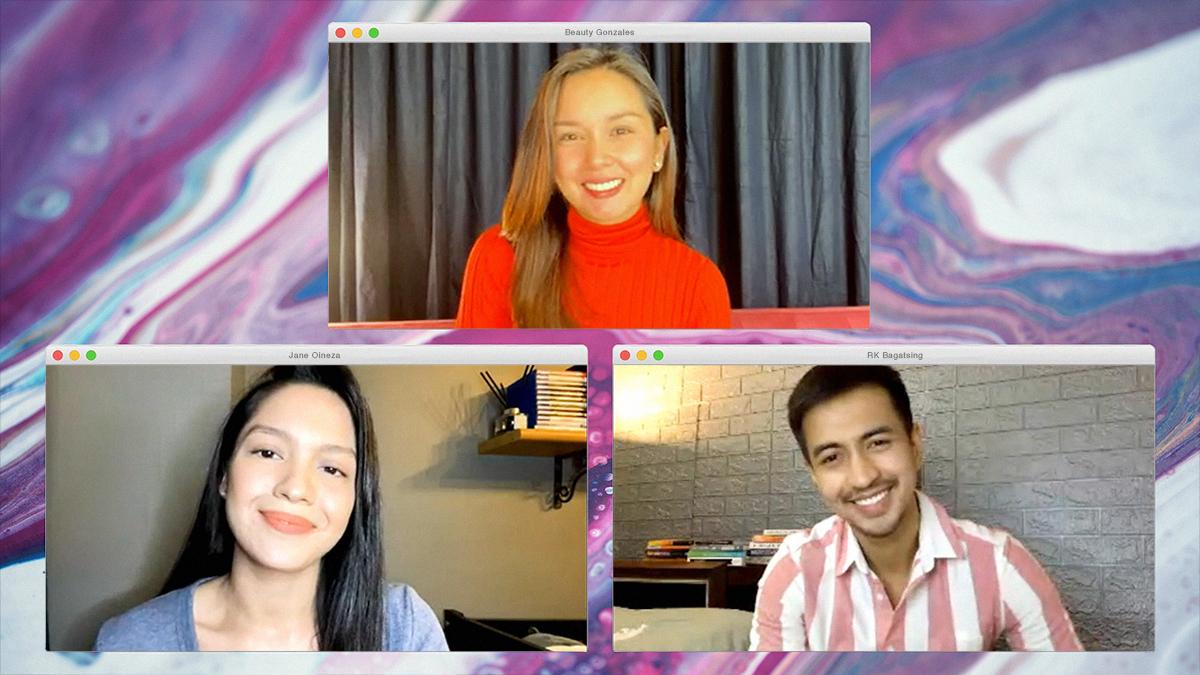 Beauty Gonzalez, RK Bagatsing, and Jane Oineza on New TV5 Show 'I Got You'