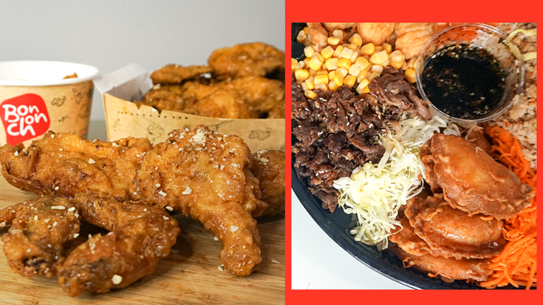 Bonchon Honey Butter Chicken and Bibimbowl Platter