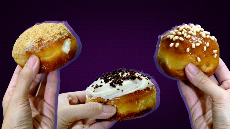Poison's Kakanin Inspired Doughnut Flavors