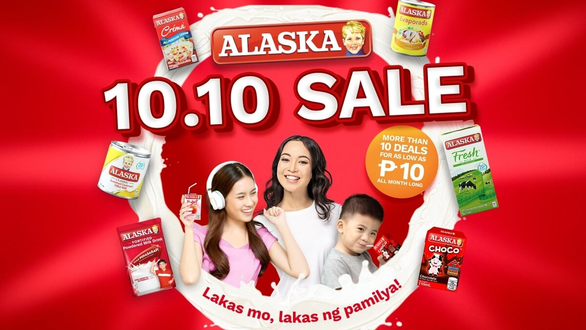 Alaska Milk to Hold Alagang Alaska 10.10 Sale for Families Affected by Pandemic
