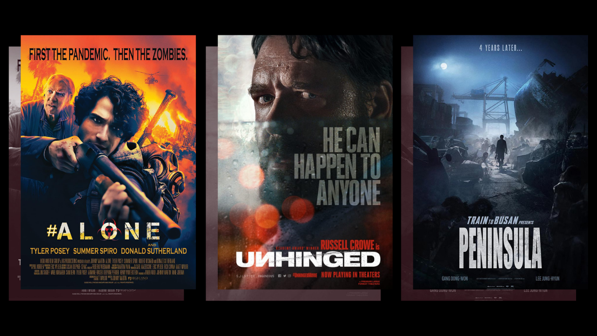 Movie Schedule: Zombie film 'Alone,' 'Peninsula,' and 'Unhinged' in SM Cinema Drive-in This Week