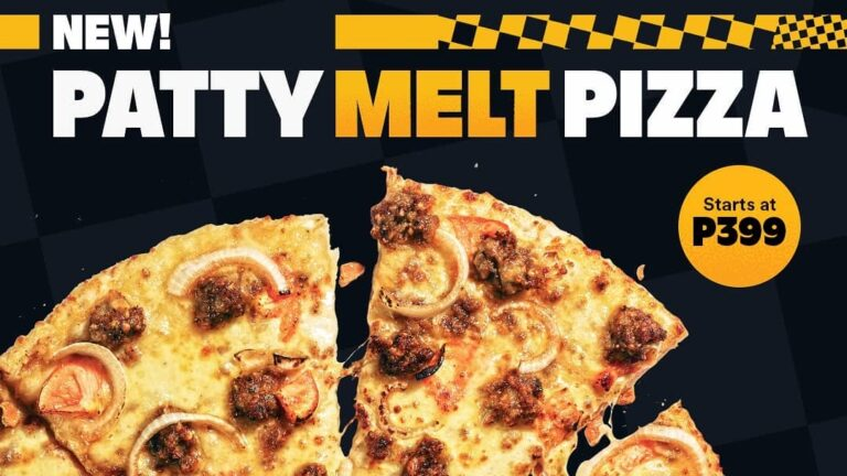 Yellow Cab Patty Melt Pizza