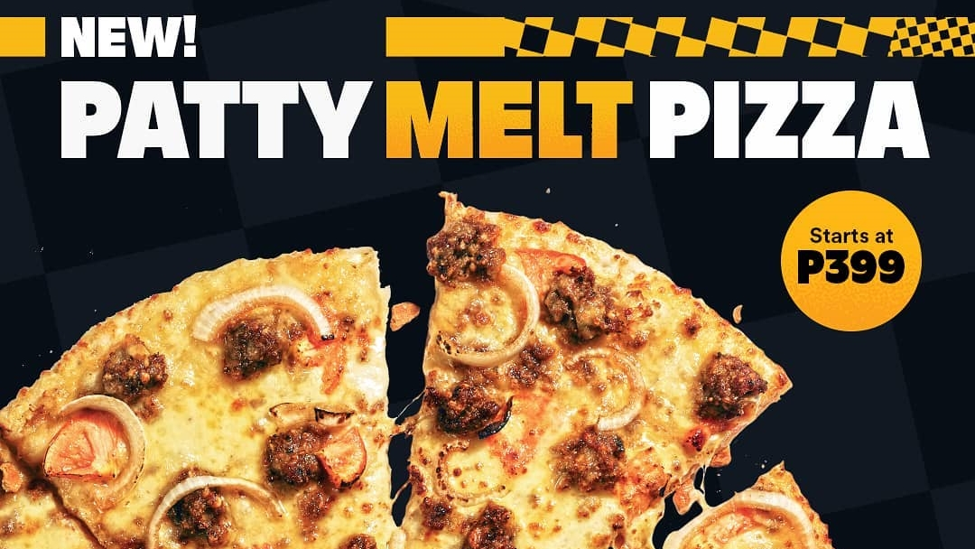Yellow Cab's Newest Patty Melt Pizza is Now Available For A Limited Time!