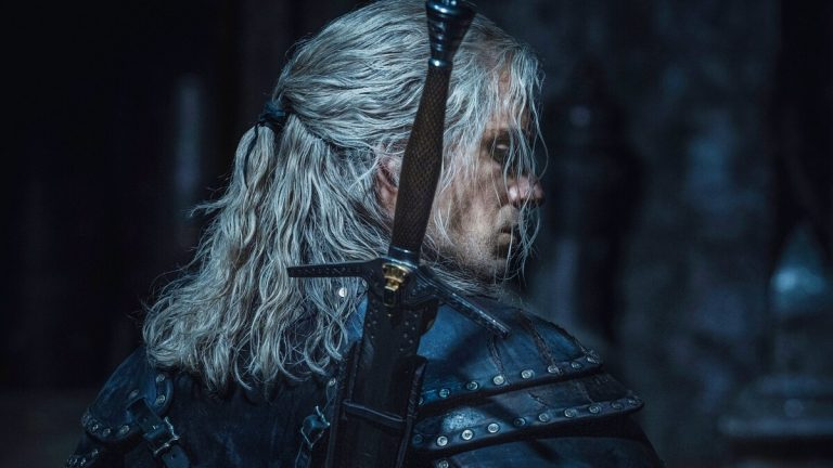 The Witcher Season 2 First Look of Henry Cavill in Black Armor