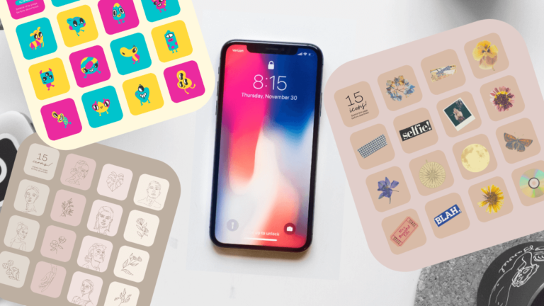 Canva Releases Free Icon Packs for Your Apple Device's iOS 14 Update