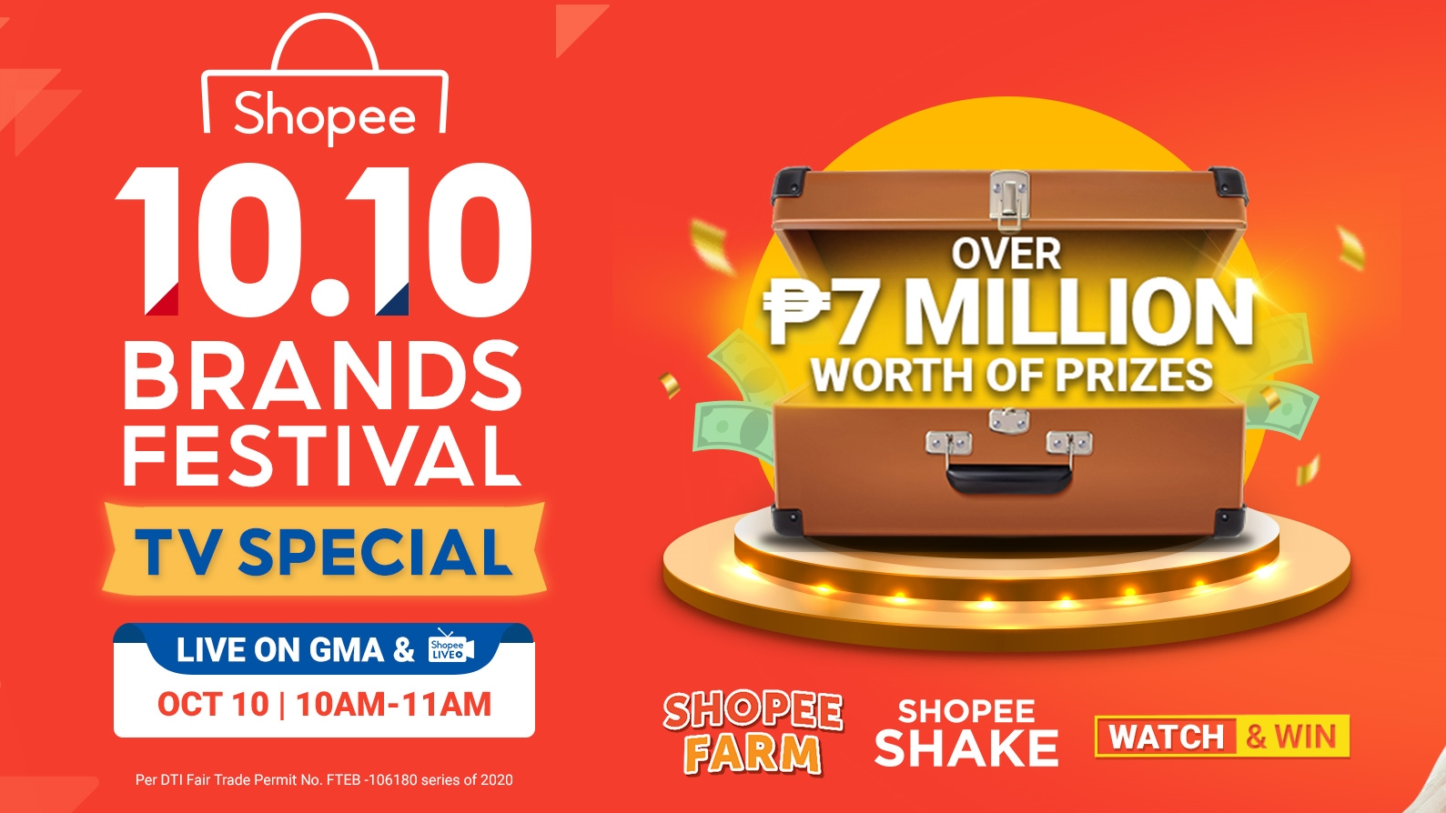Shopee Continues Support For Brands with the 10.10 Brands Festival