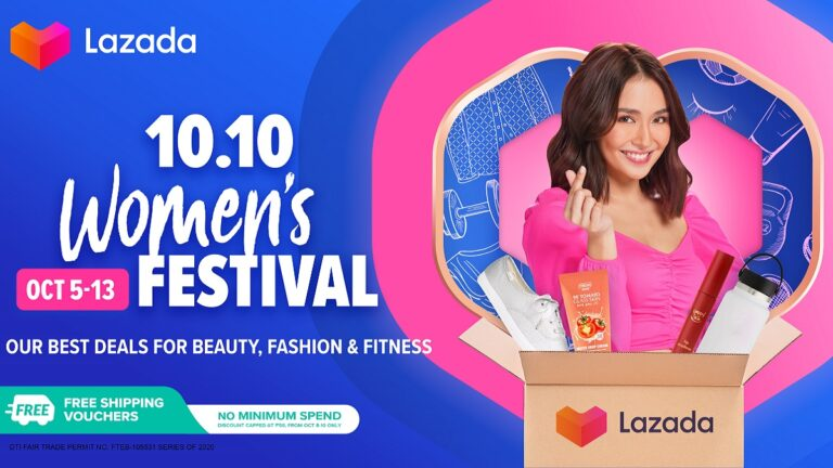 Lazada 10.10 Womens Festival