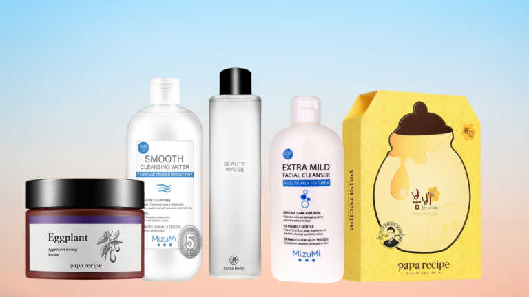 MizuMi, Son & Park, and Papa Recipe SkinCare