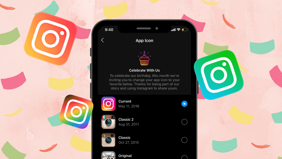 Here's How to Change the Instagram Icon on Your iPhone & Android Devices