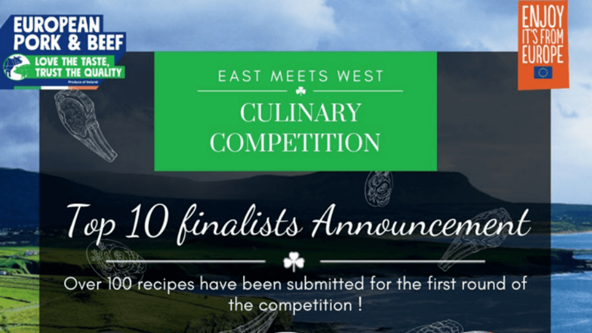 Here Are The Top 10 Finalists of the East Meets West Culinary Competition