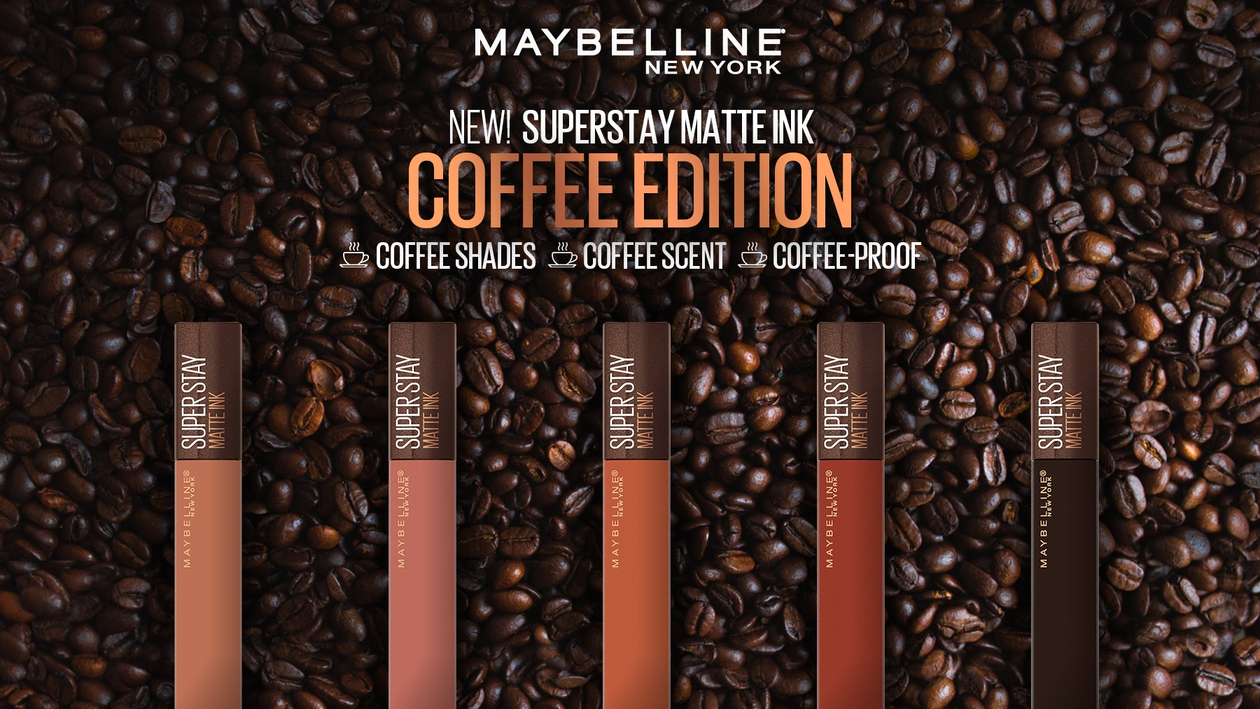 Maybelline's Superstay Matte Ink Coffee Edition is the Lipstick For Coffee-Lovers