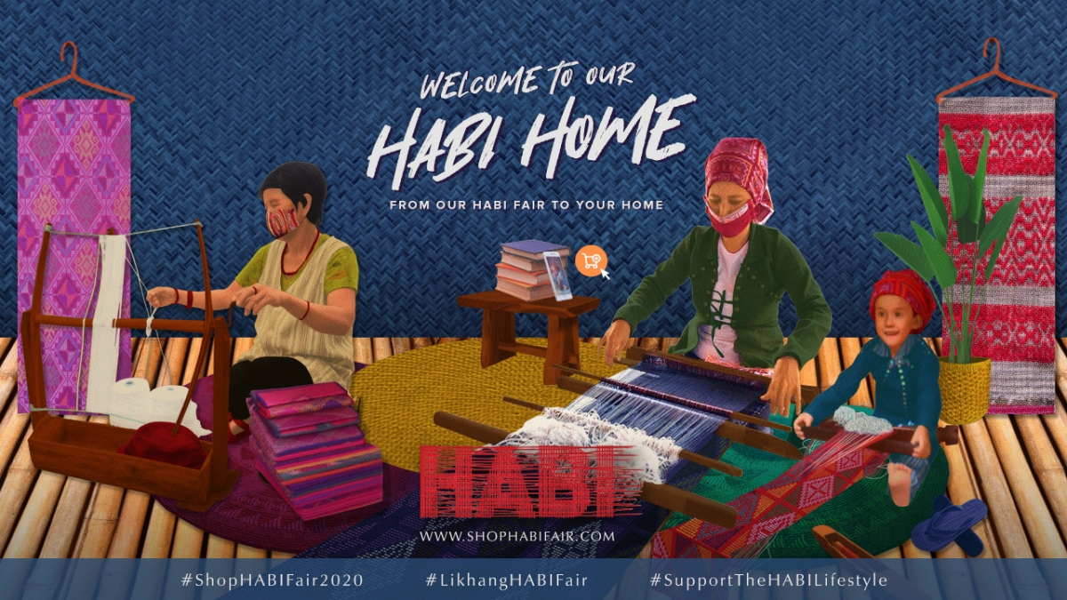 Support our Local Weaving Industry Online at Likhang HABI Market Fair