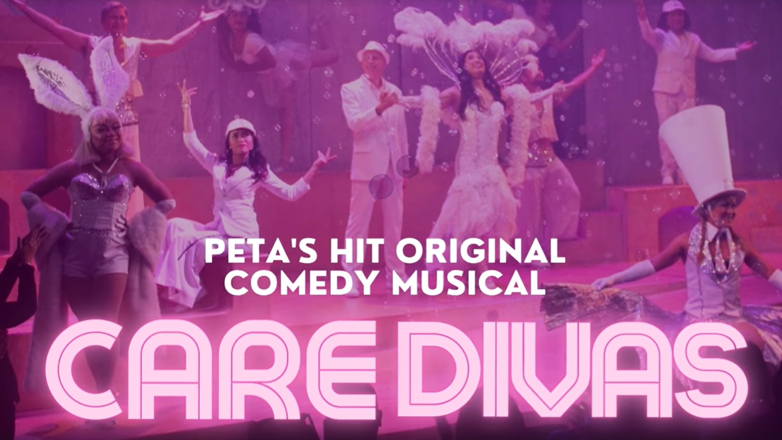 Read more about the article PETA's 'Care Divas' To Stream Online This November!