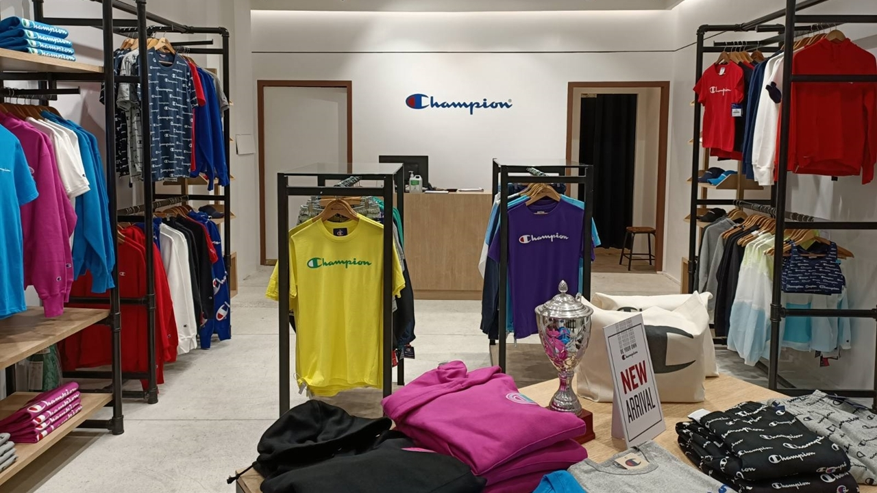 Champion Opens Its First Concept Store in the Philippines
