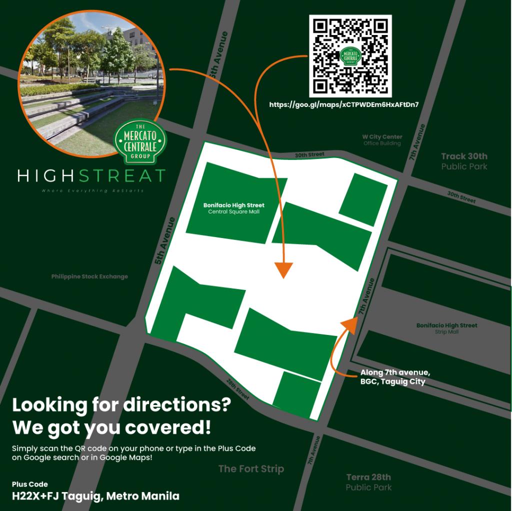 Mercato High StrEat - Mercato Centrale Location Map