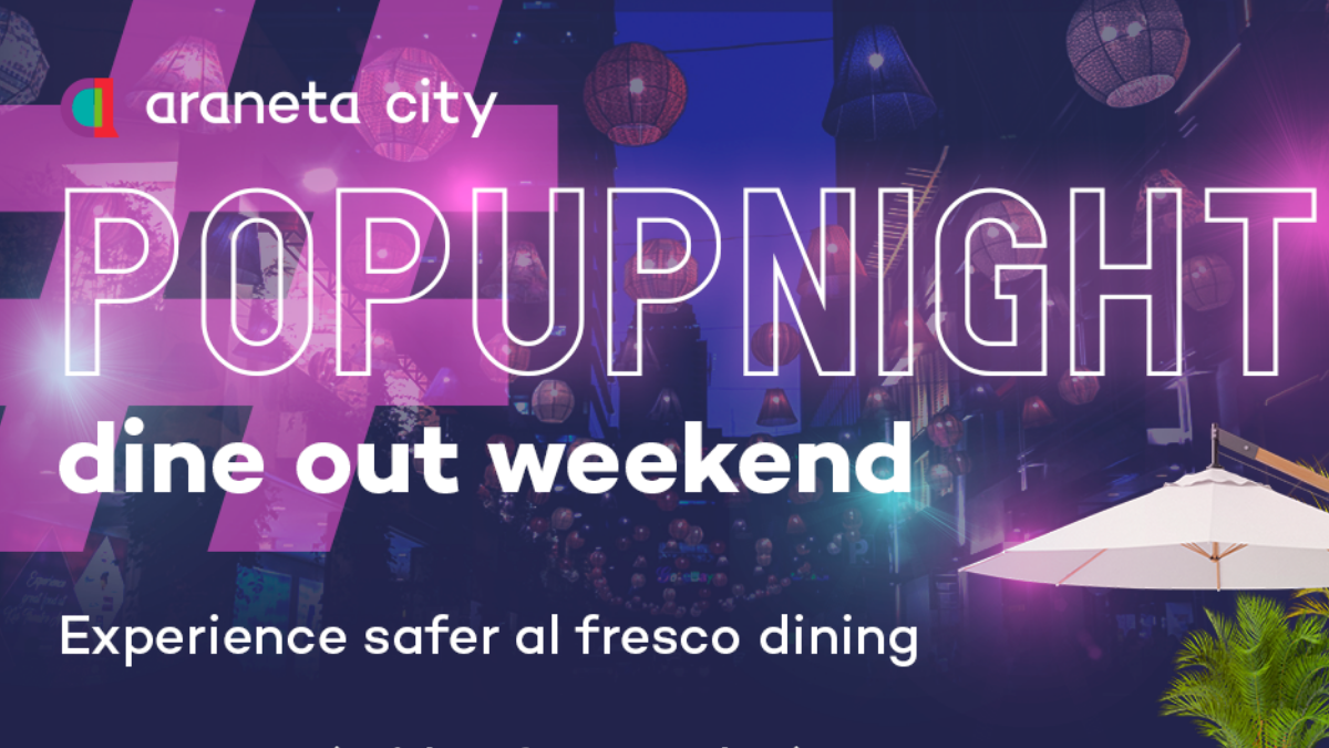 A Taste of Al Fresco Dining at Araneta City's #PopUpNight Dine Out Weekend