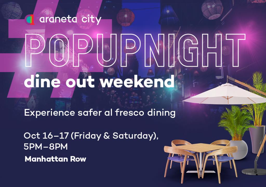 Araenta City Dine out Weekend