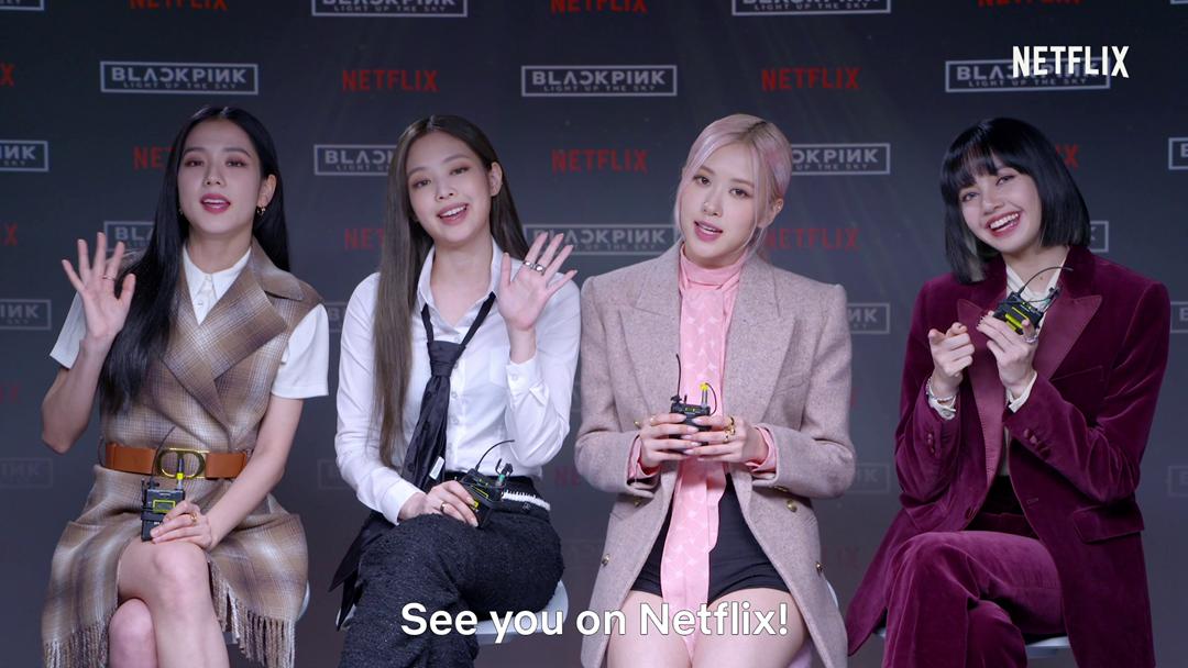 BLACKPINK Invites Everyone to Watch Their Netflix Documentary