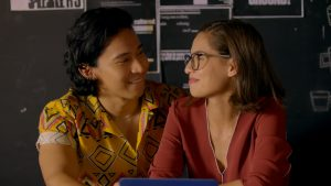 Enchong Dee and Jasmine Curtis in Alter Me
