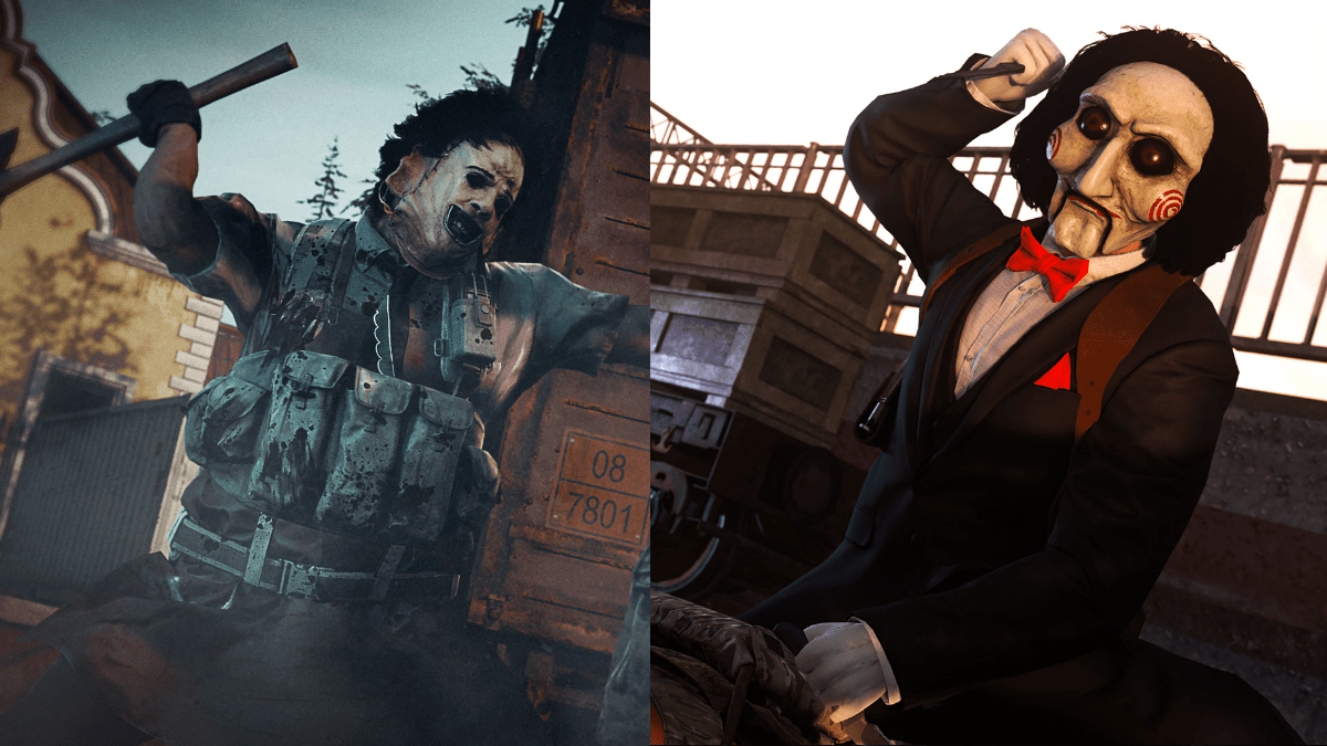 Call of Duty: Warzone, Modern Warfare Add Jigsaw, Leatherface, & Zombies