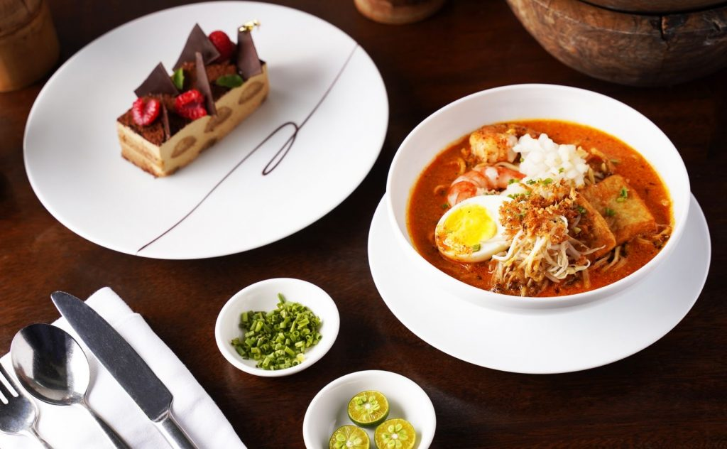 Brasserie on 3 Feast of Flavors - Singaporean Laksa