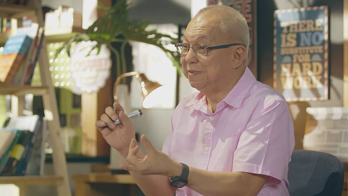 Ricky Lee Shares Storytelling Secrets in iWANT TFC's 'Trip To Quiapo'