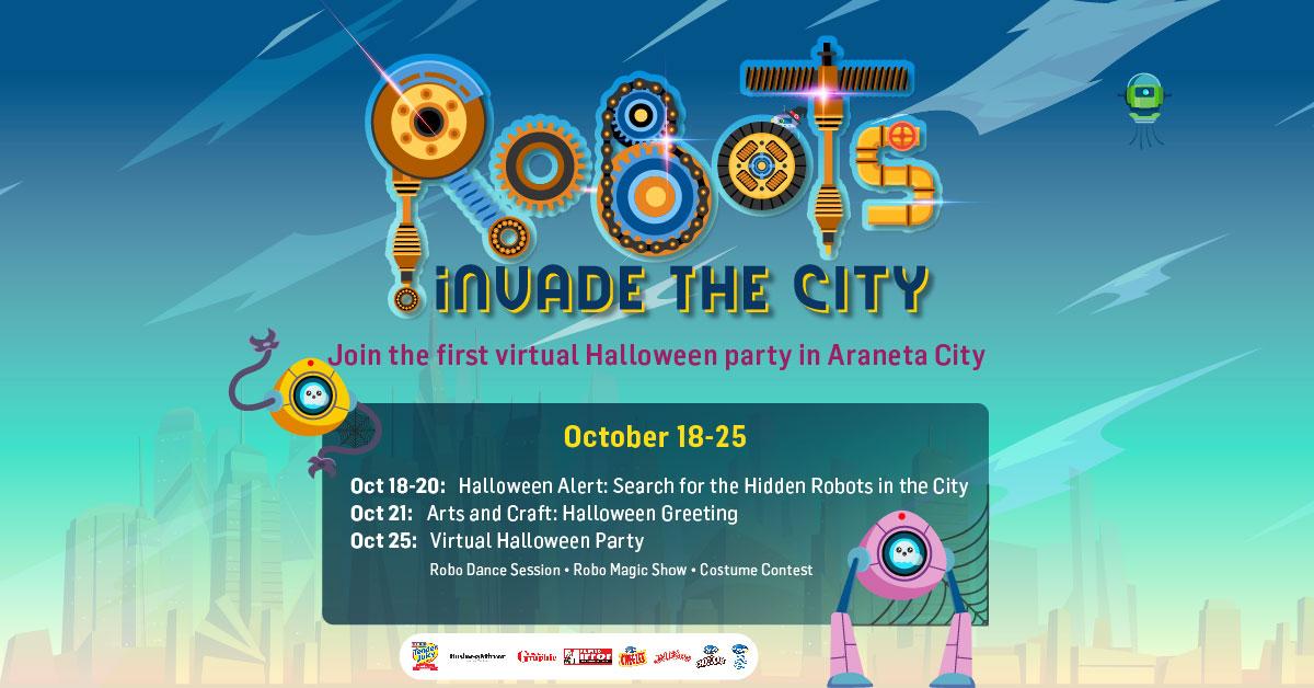 Robots Invade Araneta City this Halloween!