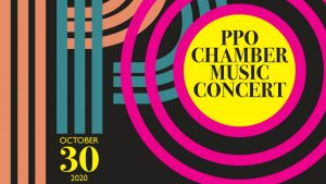 PPO Chamber Music Concert 2020 Poster 2