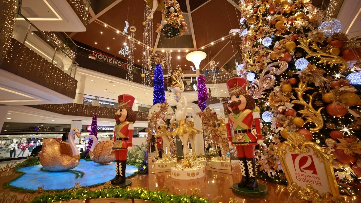 Robinsons Galleria Unveils Christmas Decor for Your Yuletide Shopping