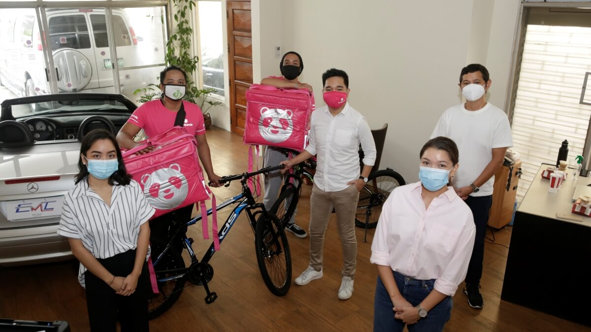 EMC, foodpanda Give Out Free Bikes & Jobs for Jobless Filipinos