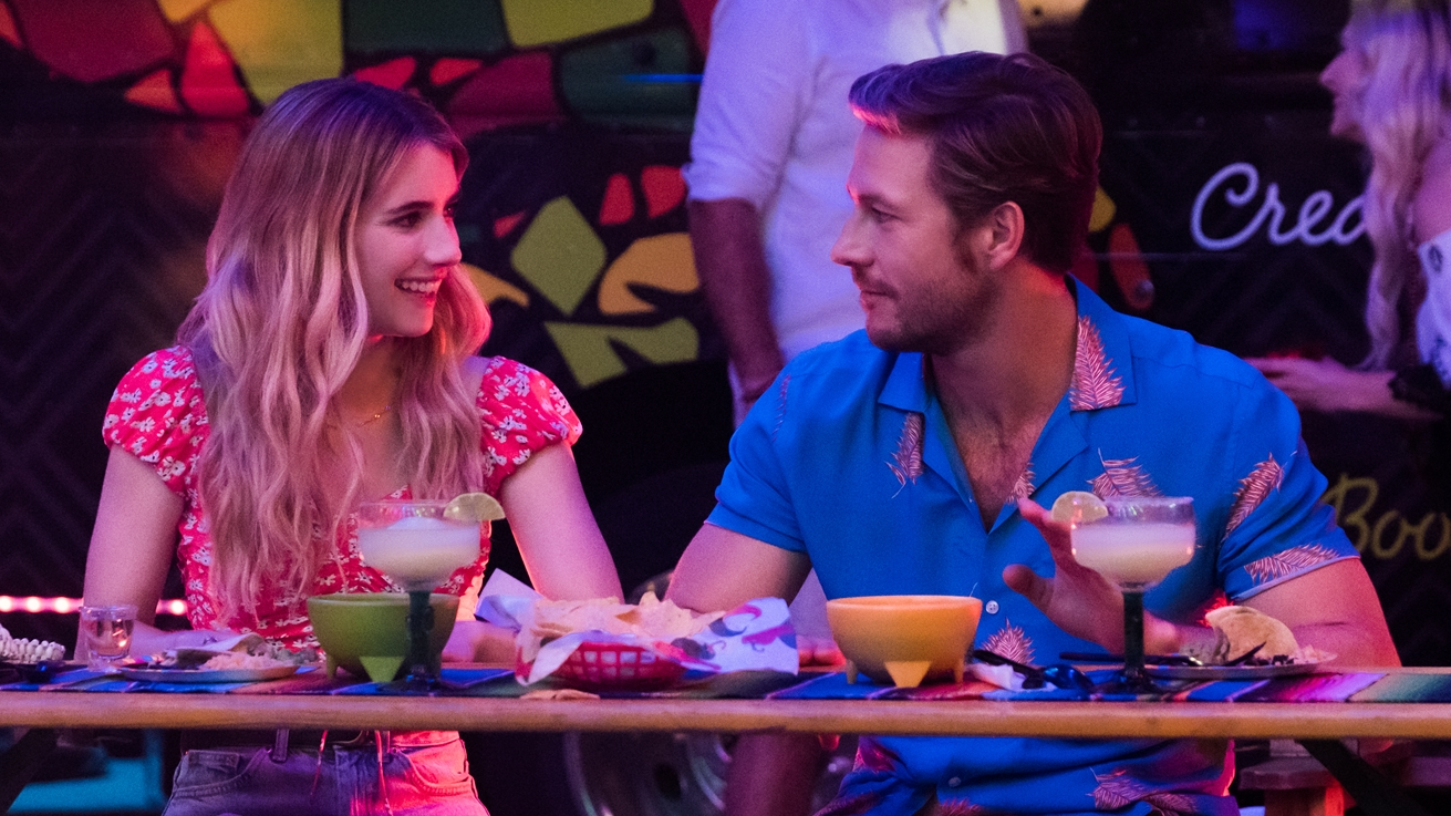 Q&A: 'Holidate' Leads Emma Roberts and Luke Bracey on Their New Film and Having Their Own Holiday Dates