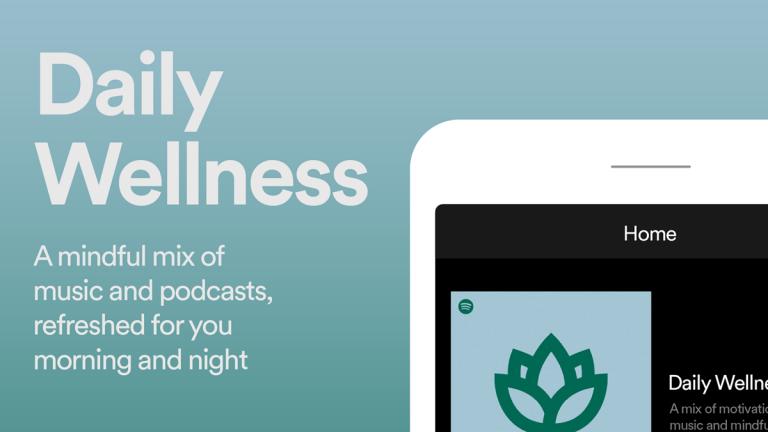 Spotify Daily Wellness