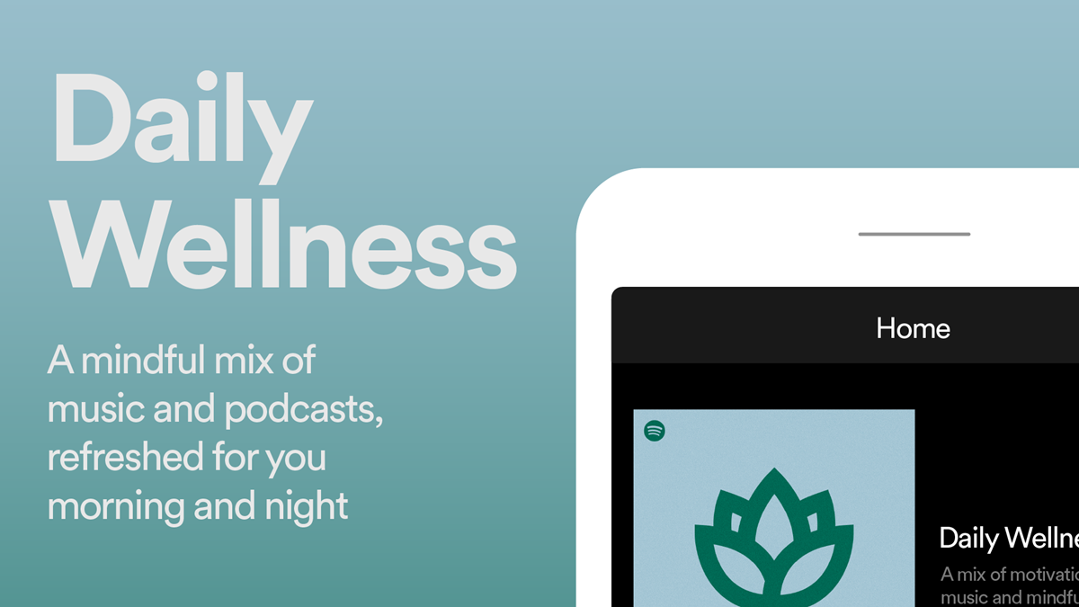 Read more about the article Spotify's Daily Wellness Mix Helps Users Find Peace and Positivity Through the Day