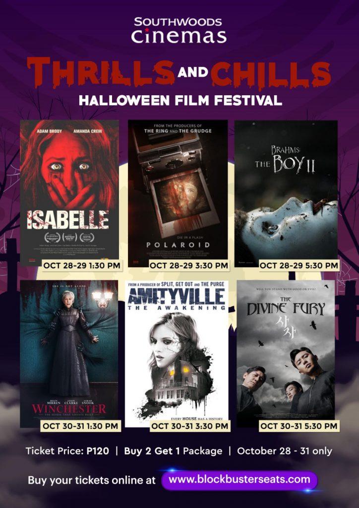 Southwoods Cinemas Brings 'Thrills And Chills' Halloween Film Fest