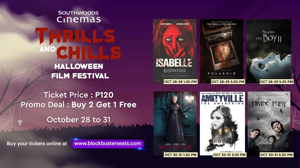 Southwoods Cinemas Brings 'Thrills And Chills' Halloween Film Fest
