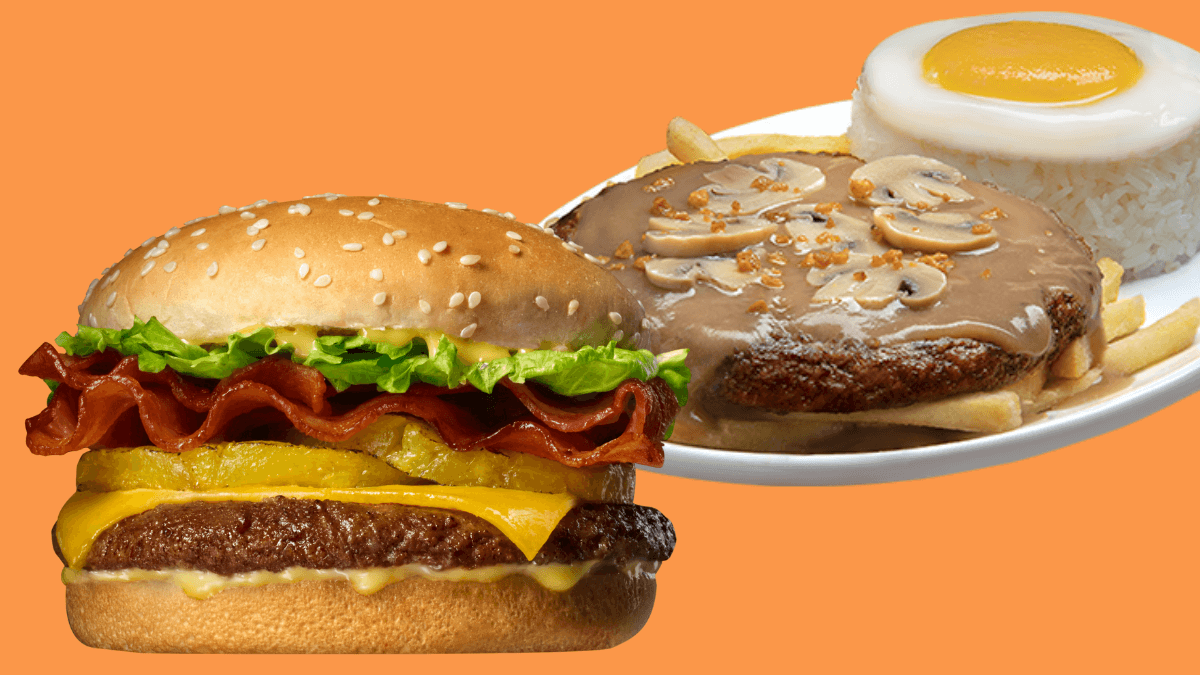 Jollibee's Champ and Ultimate Burger Steak Are Back!