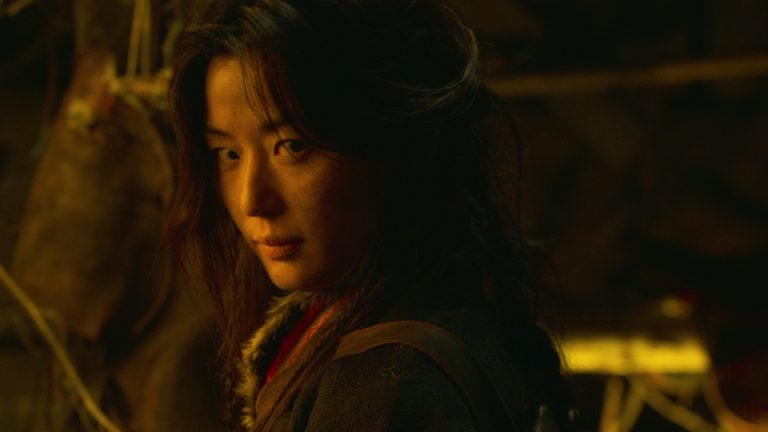 Jun Ji Hyun as Ashin in Ashin of the North