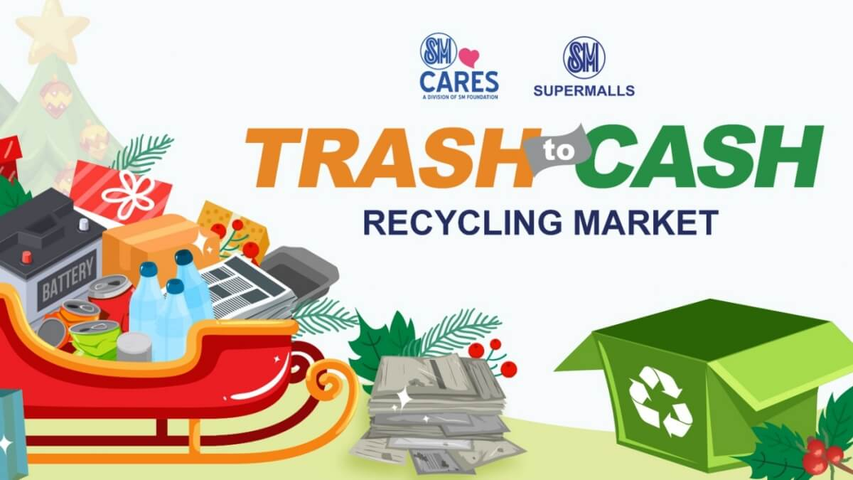 Celebrate Christmas while Caring for the Environment with SM's Trash to Cash Recycling Market
