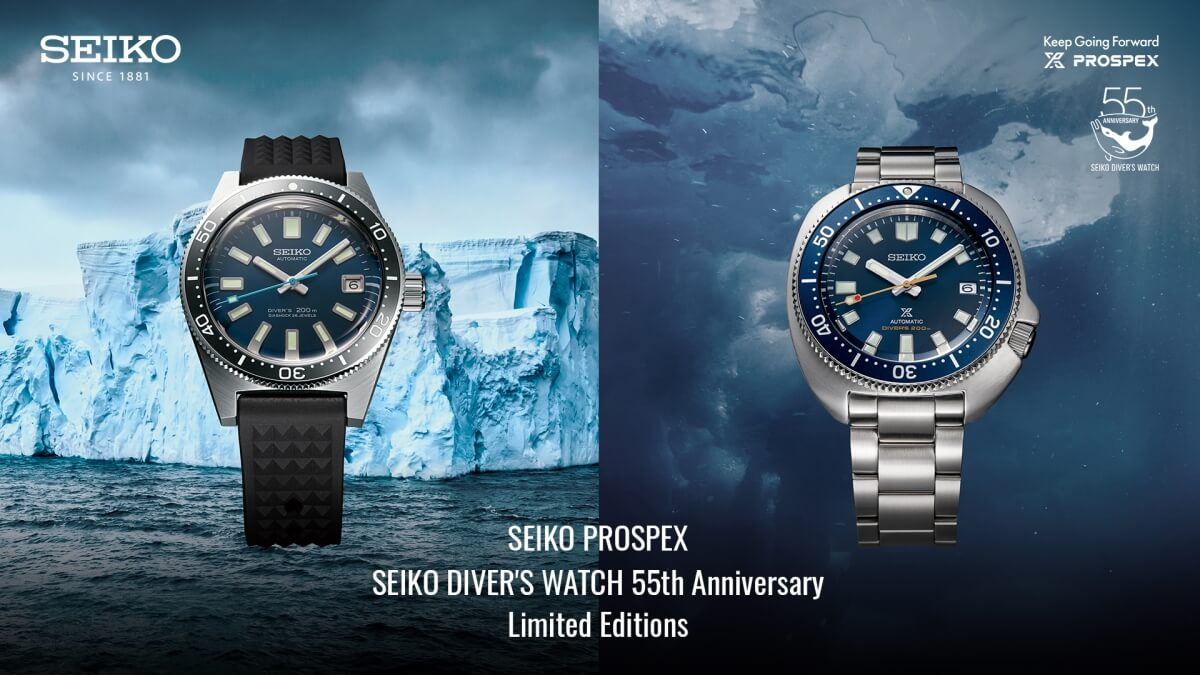 Seiko's First Philippine Edition Prospex Watch is Inspired by the Tubbataha Reefs