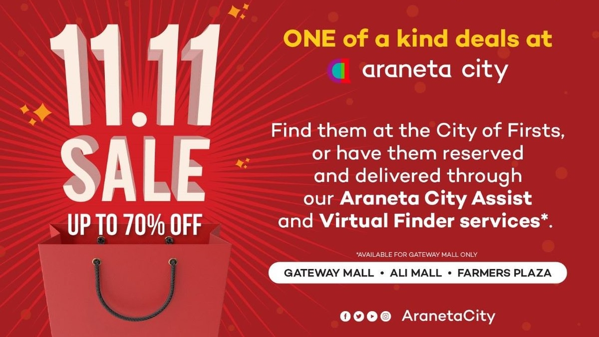Araneta City Makes Holiday Shopping Convenient and Cost-Efficient