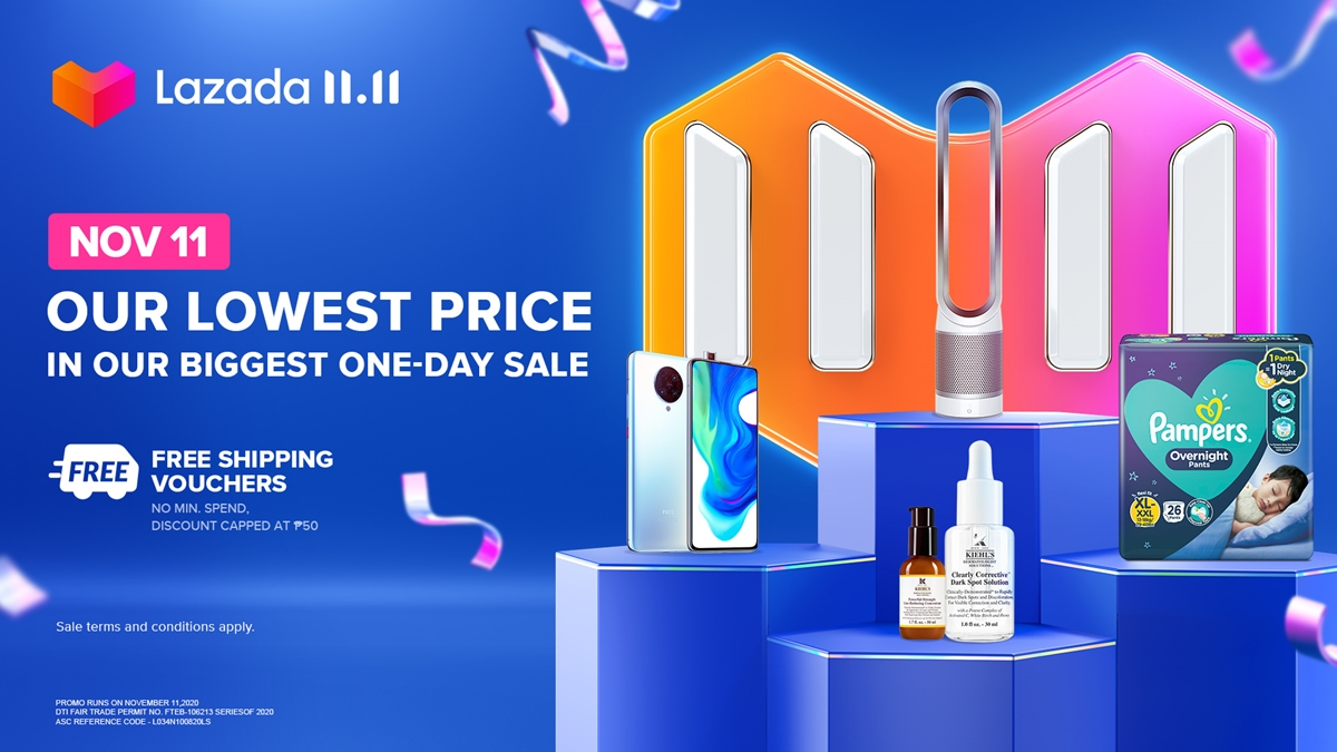 Shoppers, Here's What To Expect in Lazada's 11.11 Shopping Festival