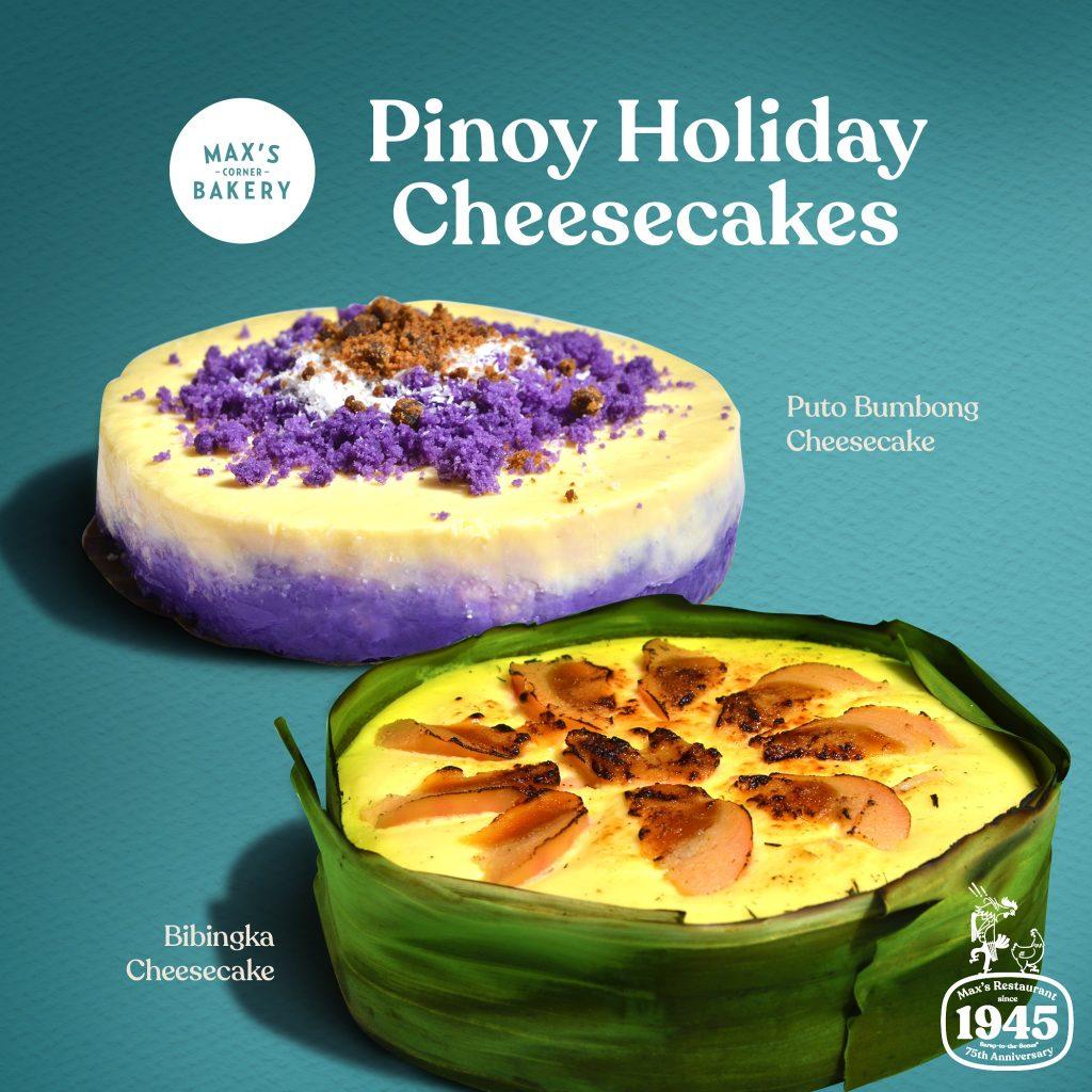 Max's Puto Bumbong and Bibingka Cheesecake