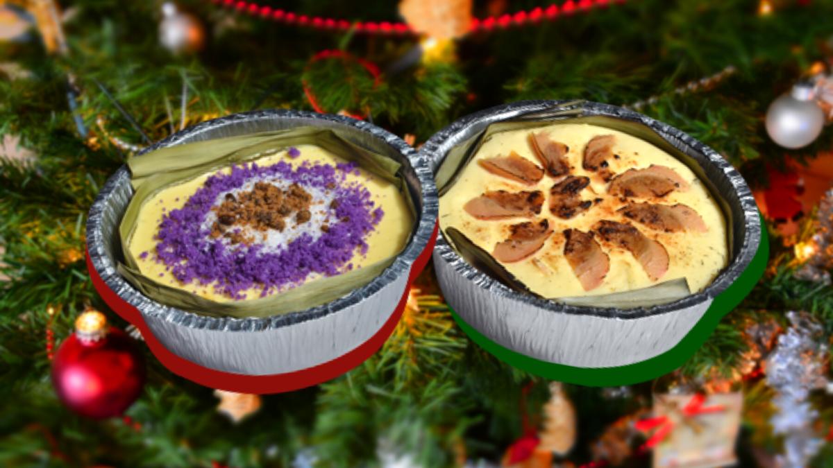 Max's Turns Puto Bumbong and Bibingka into Holiday Cheesecakes