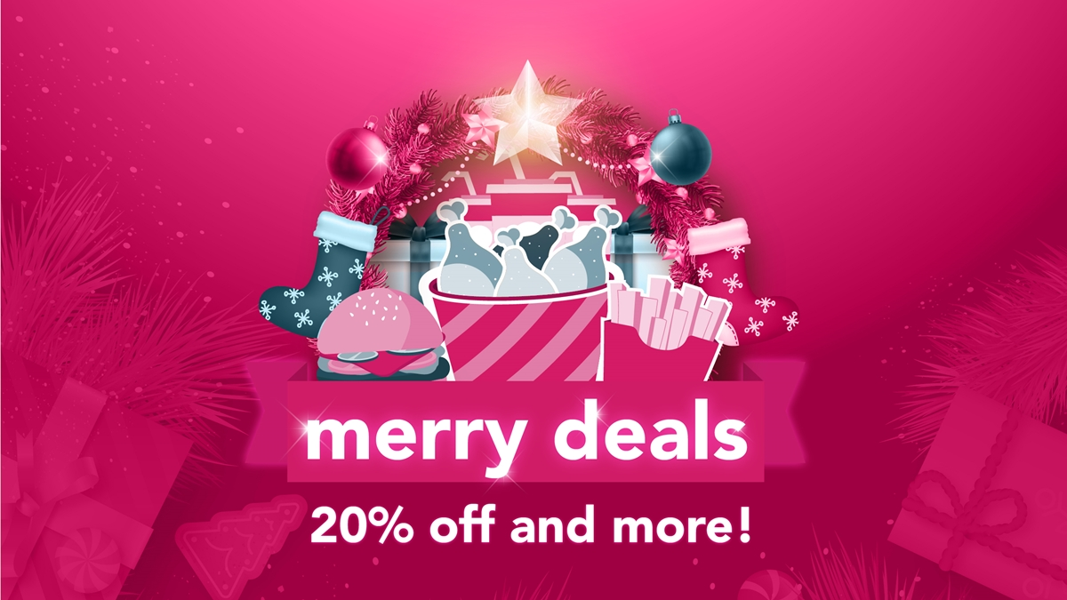 Make the Holidays Merrier with Foodpanda's Merriest Deals Promo