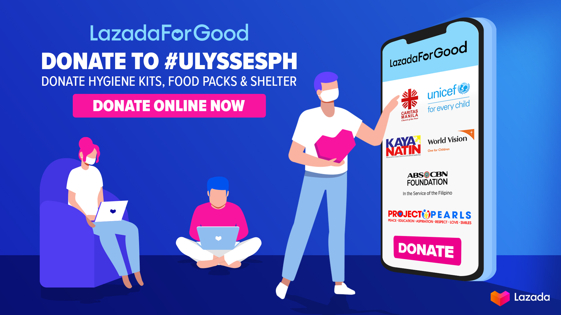 Help Communities Recover From Typhoon Ulysses By Donating Through LazadaForGood